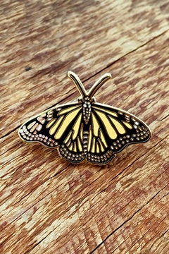 Shoptiques Product: Monarch Butterfly Pin