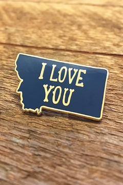Shoptiques Product: Montana Enamel Pin
