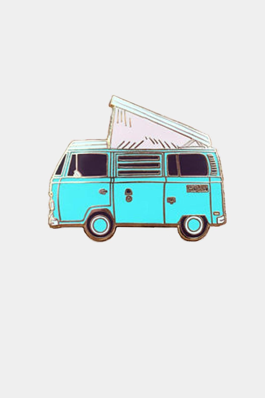 Noteworthy Paper & Press Vw Enamel Pin - Front Cropped Image