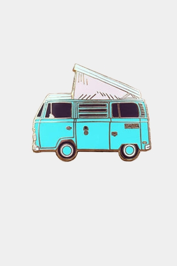 Noteworthy Paper & Press Vw Enamel Pin - Main Image