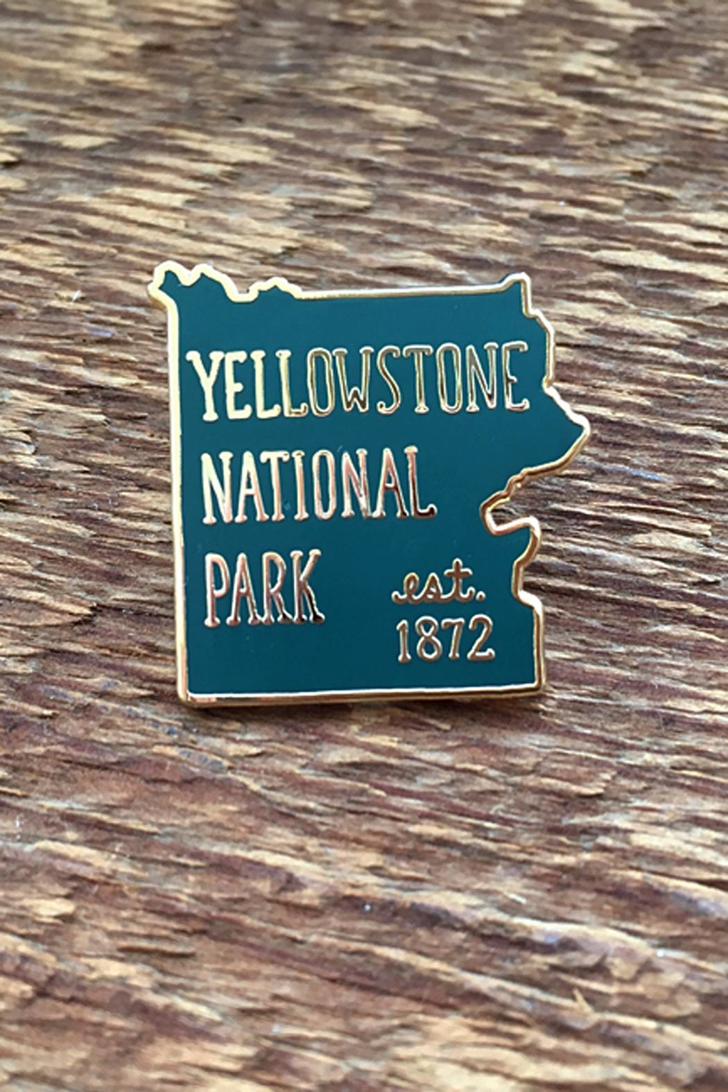 Noteworthy Paper & Press Yellowstone Park Pin - Main Image