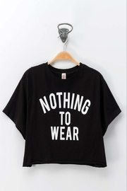 Trend Notes  NOTHING TO WEAR CROP TOP - Product Mini Image