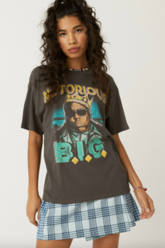 Shoptiques Product: NOTORIOUS B.I.G. CROWN WEEKEND TEE