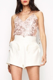 Alice McCall  Notorious Shorts Creme - Product Mini Image