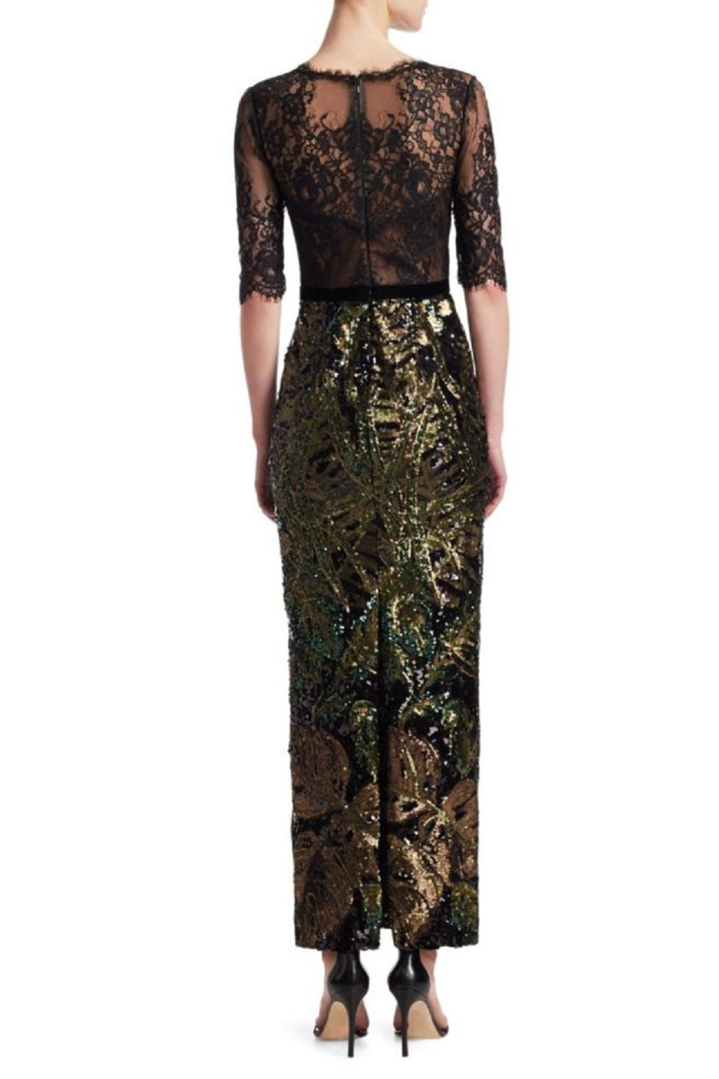 Marchesa 3/4 Sleeve Dress from New Jersey by District 5 Boutique ...