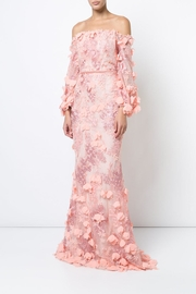 Marchesa 3d Embroidered Gown - Product Mini Image