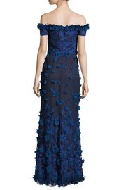 Marchesa 3d Petal Gown - Front full body