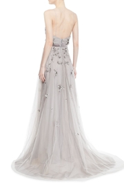 Marchesa Beaded Tulle Gown - Side cropped
