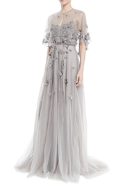 Marchesa Beaded Tulle Gown - Front full body