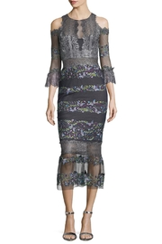 Notte by Marchesa Cold Shoulder Dress - Product Mini Image
