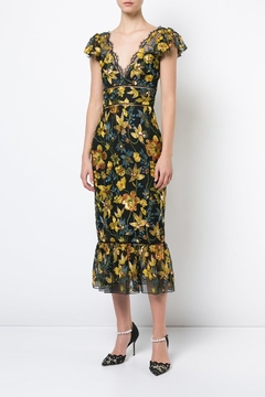 Notte by Marchesa Cap Sleeve Dress - Product List Image