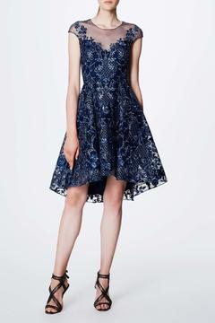 Notte by Marchesa Cap Sleeve Dress - Alternate List Image