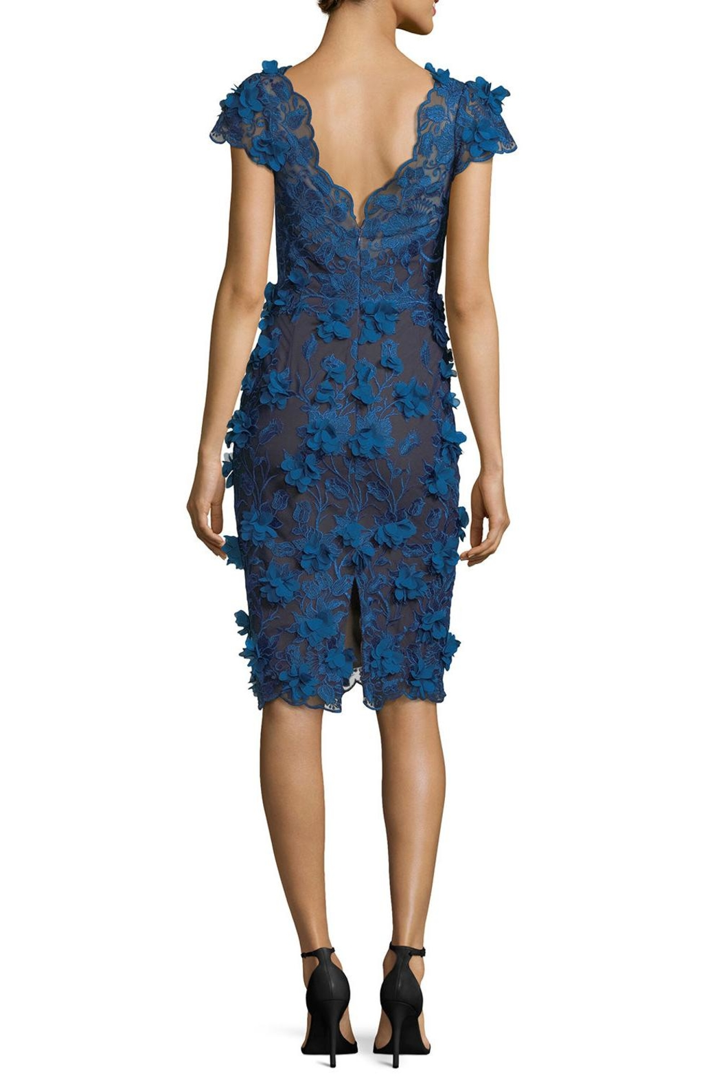 Marchesa Cocktail Dress - Front Full Image