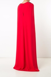 Notte by Marchesa Crepe Cape Gown - Side cropped