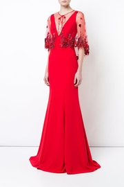 Marchesa Crepe Evening Gown - Product Mini Image