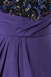 Notte by Marchesa Draped Faille Gown - Side cropped