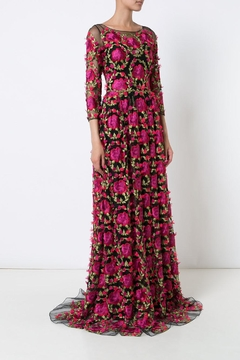 Notte by Marchesa Embroidered Evening Gown - Product List Image