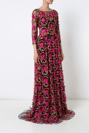 Notte by Marchesa Embroidered Evening Gown - Product Mini Image