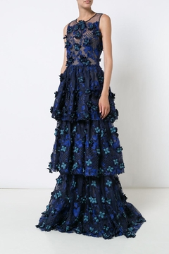 Shoptiques Product: Embroidered Evening Gown