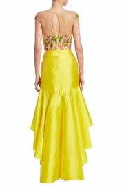 Notte by Marchesa High-Low Mikado Dress - Front full body