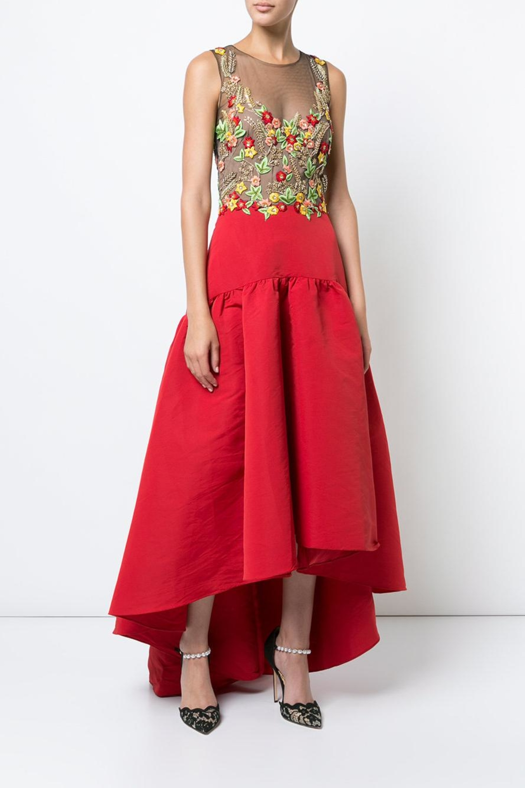 Notte by Marchesa High-Low Floral Dress - Main Image