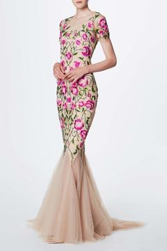 Notte by Marchesa Floral Embroidered Gown - Alternate List Image