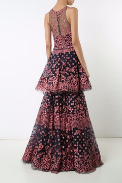 Notte by Marchesa Floral Evening Gown - Alternate List Image