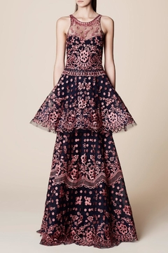 Notte by Marchesa Floral Evening Gown - Product List Image
