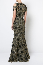 Marchesa Cold Shoulder Gown - Front full body