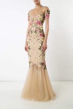 Notte by Marchesa Floral Mermaid Gown - Product List Image