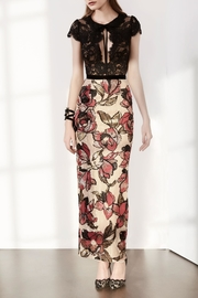 Notte by Marchesa Floral Sequin Dress - Product Mini Image