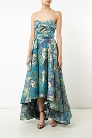 Notte by Marchesa Floral Strapless Gown - Product Mini Image