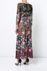 Notte by Marchesa Floral Tea Dress - Back cropped
