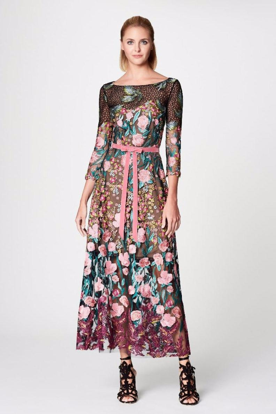 Notte by Marchesa Floral Tea Dress - Main Image