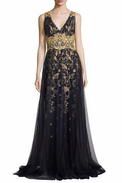 Notte by Marchesa Floral Tulle Gown - Product List Image