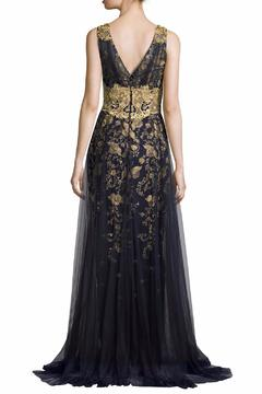 Notte by Marchesa Floral Tulle Gown - Alternate List Image