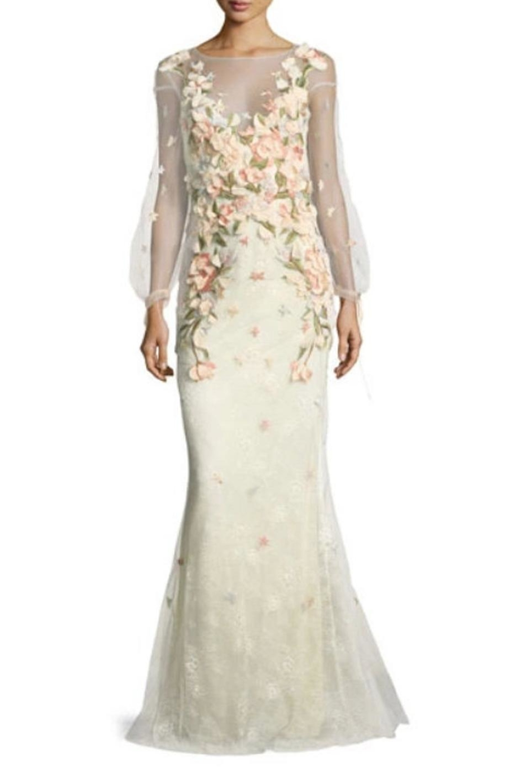 Notte by Marchesa Embroidered Evening Gown - Main Image