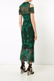 Notte by Marchesa Lace Tea Dress - Front full body
