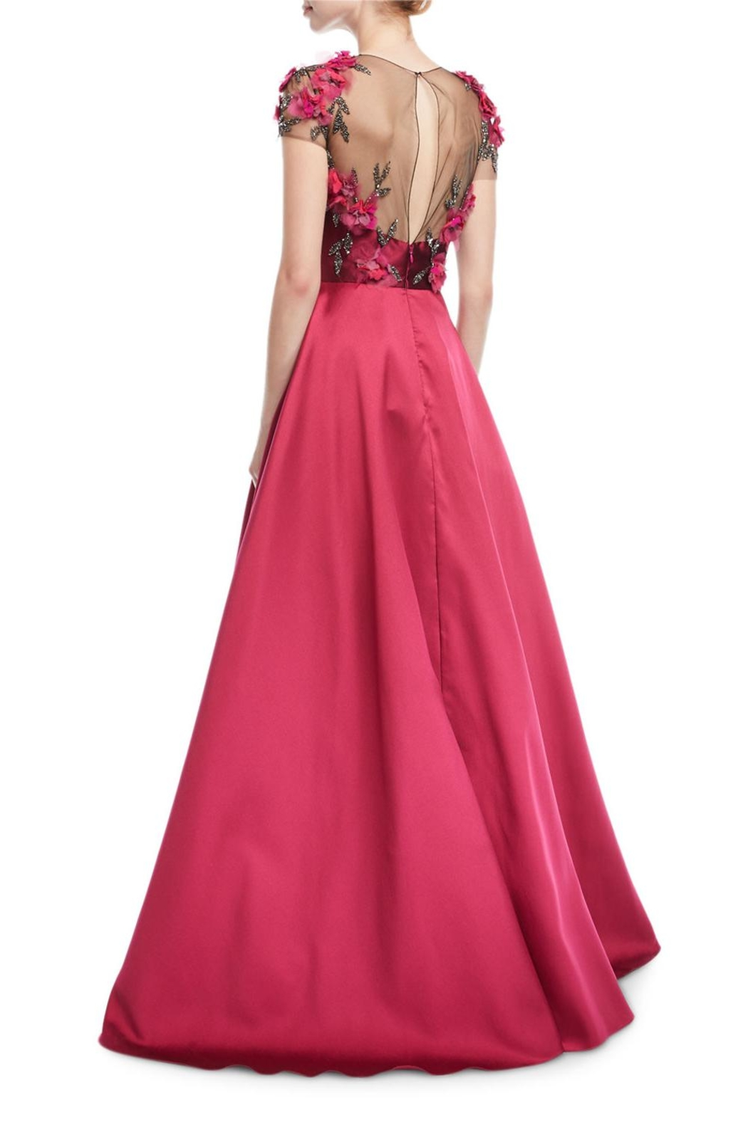 Marchesa Mikado Ball Gown - Front Full Image