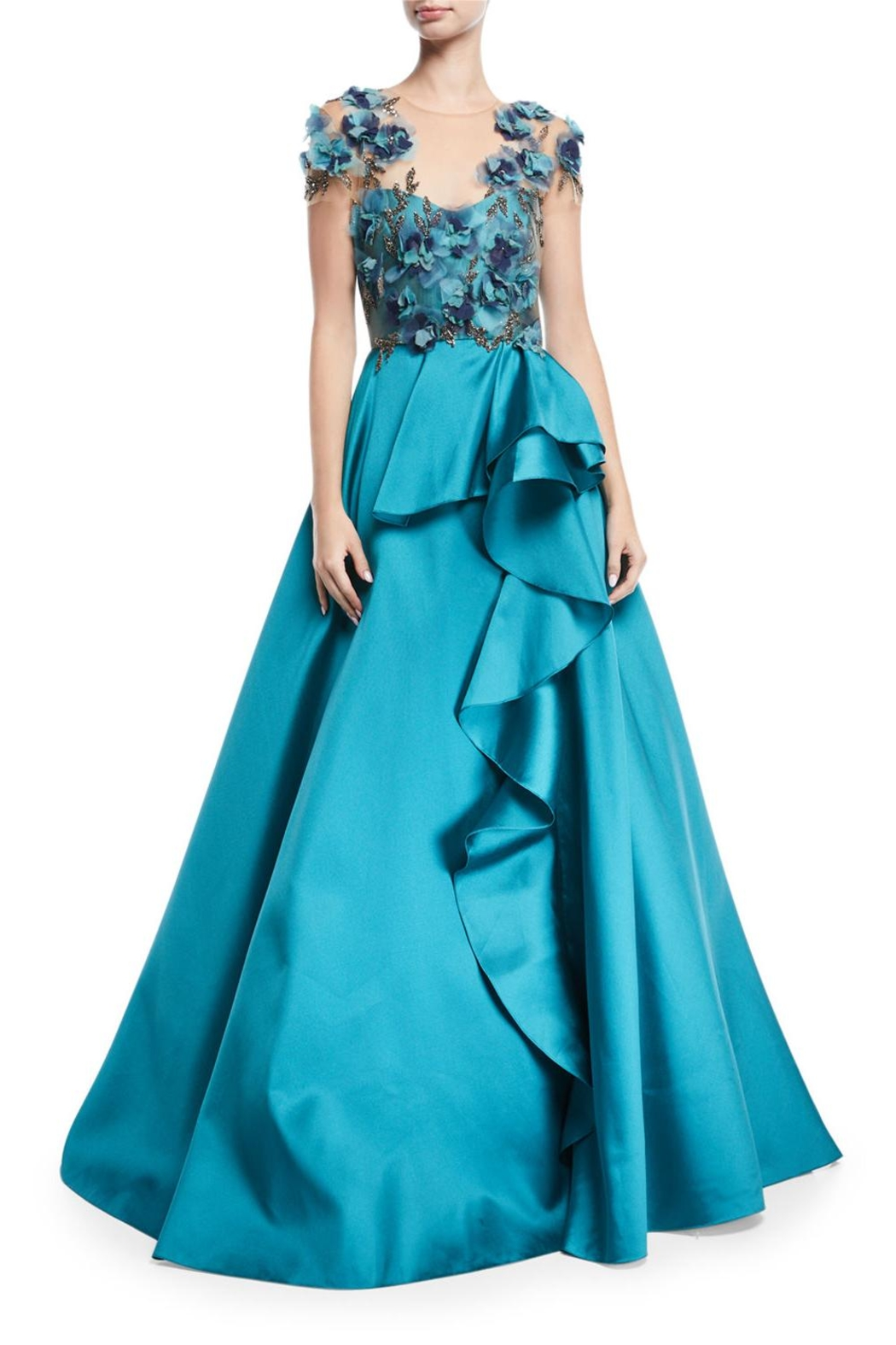 Notte by Marchesa Mikado Ball Gown - Main Image