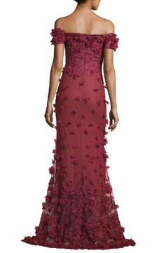 Notte by Marchesa Off Shoulder Gown - Alternate List Image