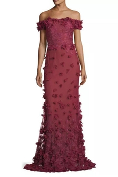 Notte by Marchesa Off Shoulder Gown - Product List Image