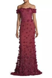 Notte by Marchesa Off Shoulder Gown - Product Mini Image