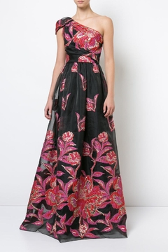 Notte by Marchesa One Shoulder Gown - Product List Image