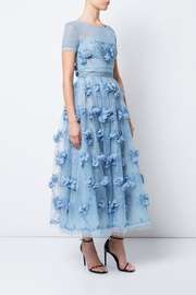 Notte by Marchesa Sheer Floral Dress - Front cropped