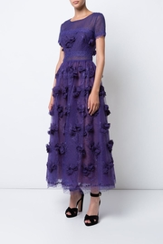 Notte by Marchesa Sheer Floral Dress - Product Mini Image