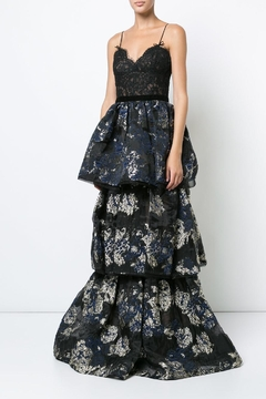 Shoptiques Product: Sleeveless Brocade Gown