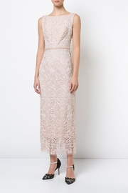 Marchesa Sleeveless Embroidered Dress - Product Mini Image