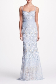 Notte by Marchesa Sleeveless Embroidered Gown - Product Mini Image