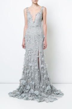 Notte by Marchesa Sleeveless Embroidered Gown - Product List Image